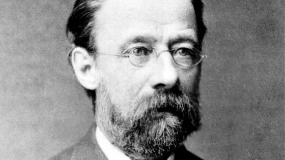 Portrait du compositeur Bedřich Smetana (1824-1884), vers 1877