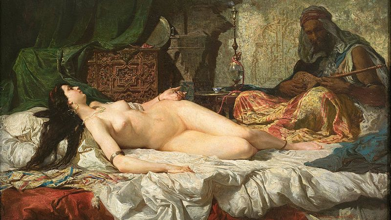 The Odalisque par Marià Fortuny