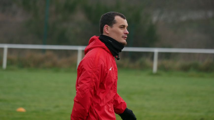 Julien Faussurier dispute sa deuxième saison à Brest.