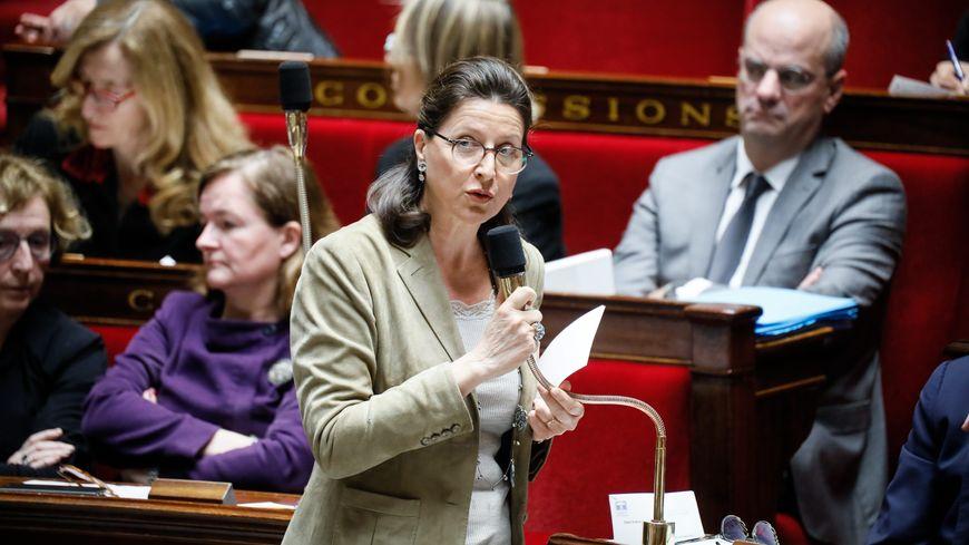 Agnès Buzyn à l'Assemblée nationale, le 30 janvier 2018
