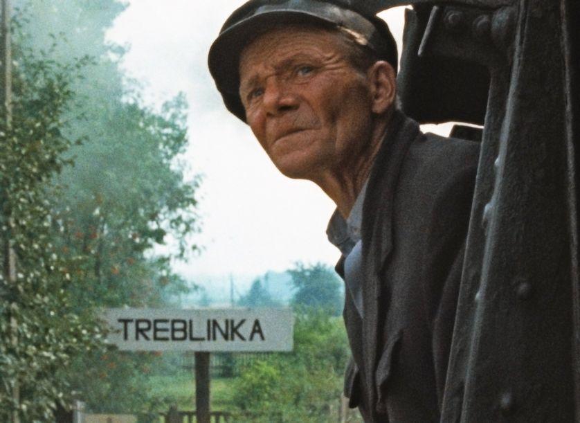 """Image extraite du film """"Shoah"""" de Claude Lanzmann (1985)."""