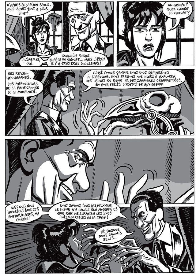 """Page 86 de """"L'Homme gribouillé"""" de Serge Lehman et Frederik Peeters"""