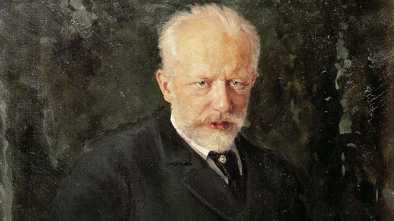 Portrait de Piotr Ilitch Tchaïkovski vers 1893.