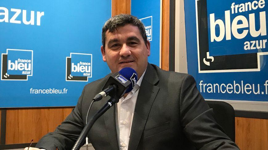 Dominique Thillaud, directeur de l'aéroport de Nice