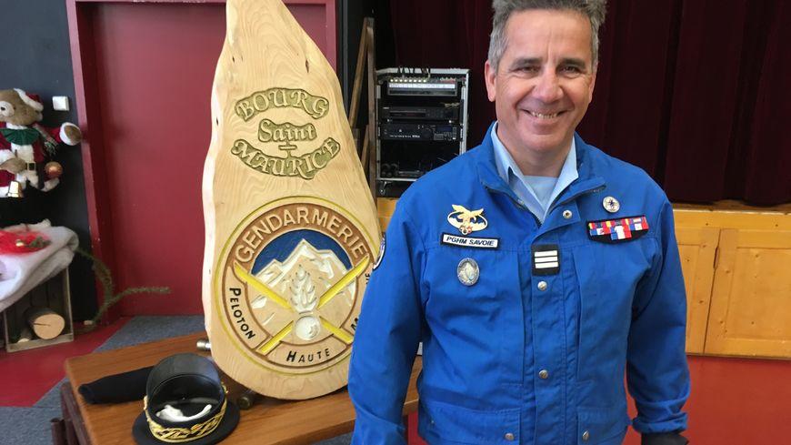 A 52 ans, Patrice Ribes est le nouveau commandant du PGHM de Savoie