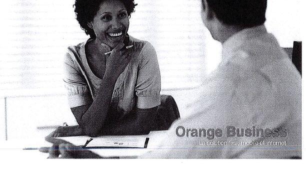 Le devis envoyé au CRITT de Châtellerault avec le logo d'Orange.