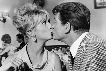 """Mylène Demongeot et Jean Marais dans """"Fantômas """"(1964)"""