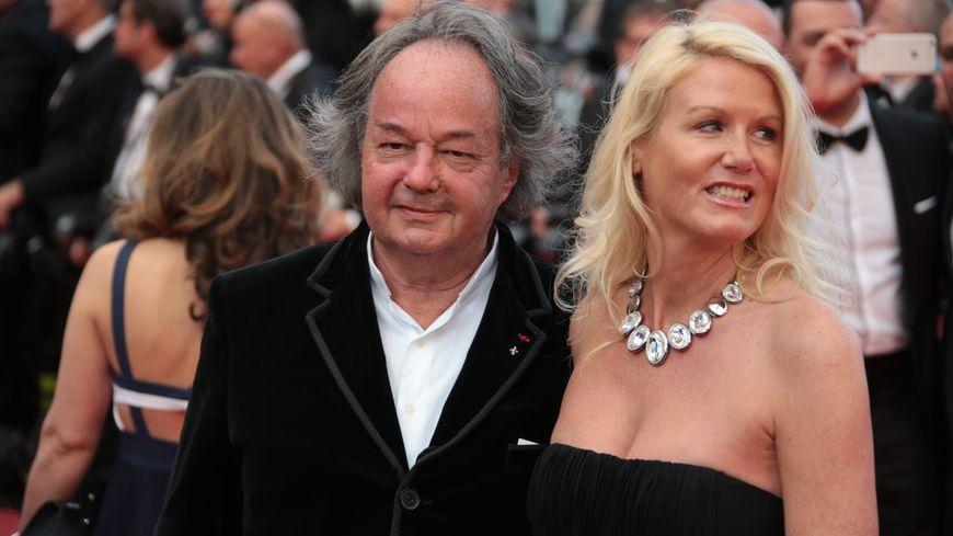 Gonzague St Bris et Alice Bertheaume au Festival de Cannes en 2016