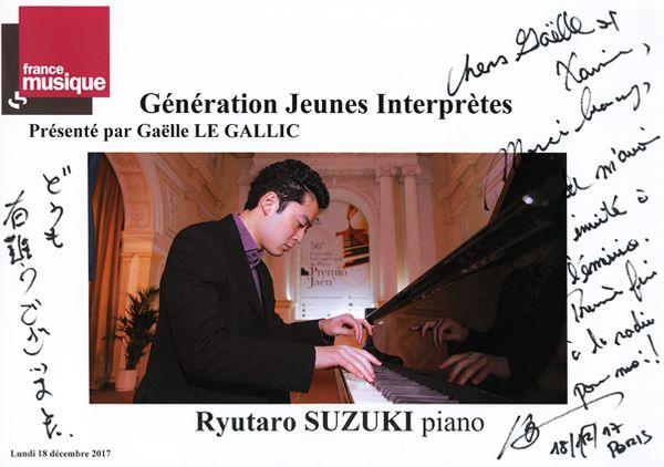 Livre d'or Ryutaro Suzuki