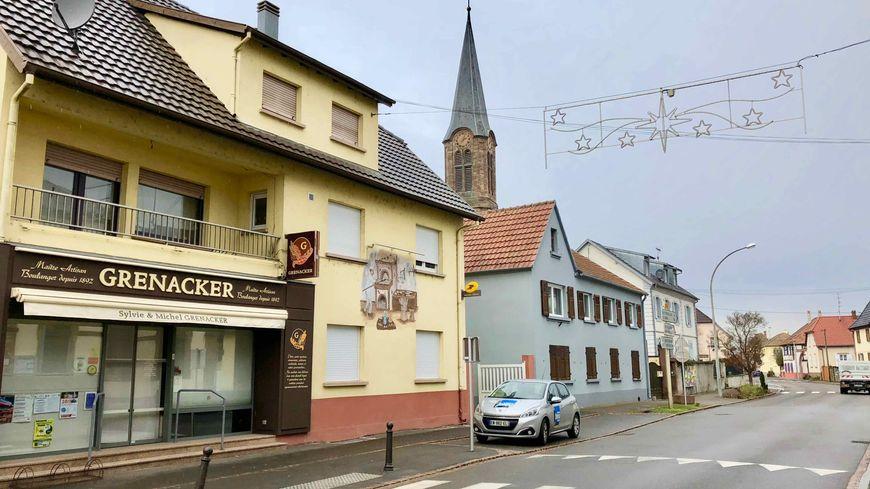 Dessenheim, la boulangerie