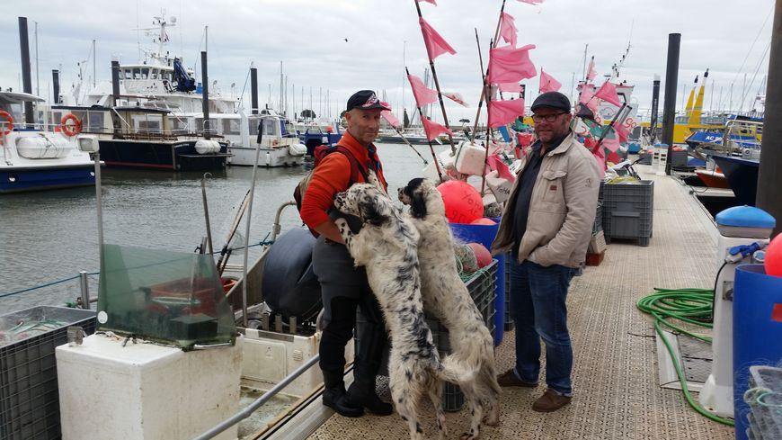 Yves et Guillaume, deux hommes de la mer qui restent à quai