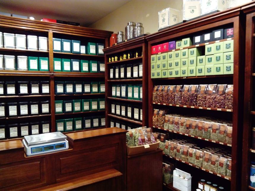 La boutique du thé à Bordeaux