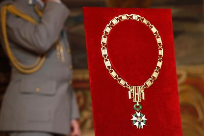 Le grand collier de l'Ordre national de la Légion d'honneur