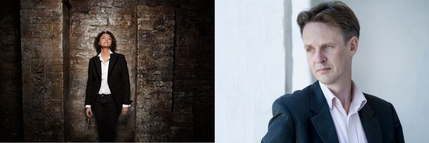 Portraits de Nathalie Stutzmann et Ian Bostridge