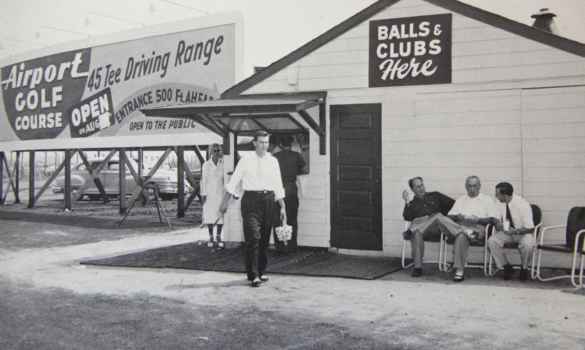 L'aérodrome de Newark, New-York, dans les années 1950