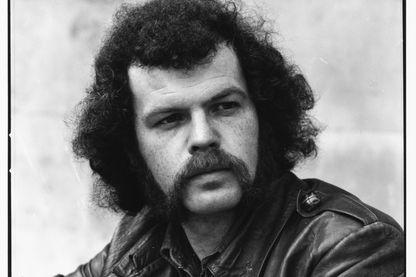 Portrait du musicien David McWilliams, le 26 juin 1972.