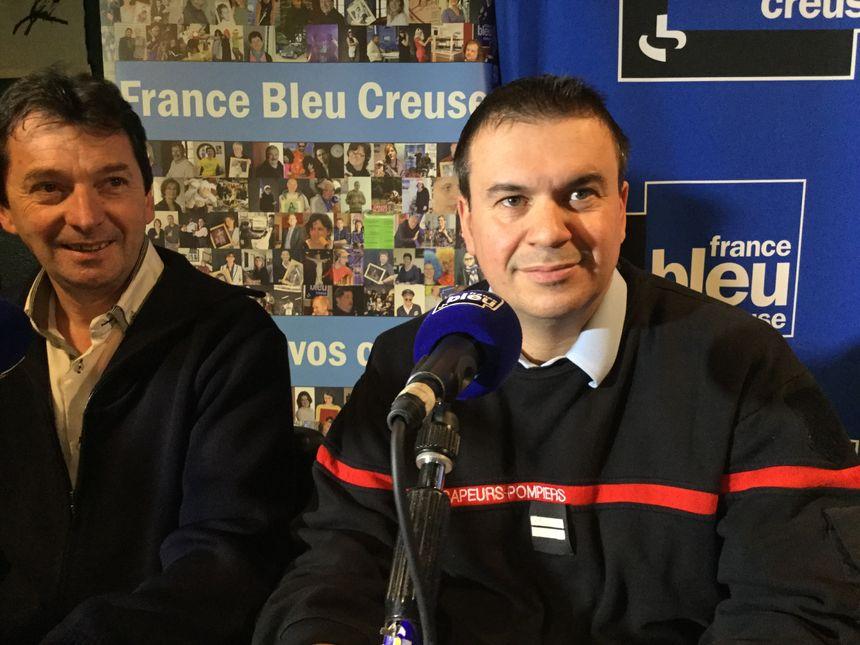 Lieutenant Christophe BELLOT-ANTONY, Union Départementale des SP de la Creuse