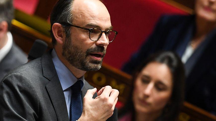 Le Premier ministre Édouard Philippe, ce mercredi à l'Assemblée nationale.