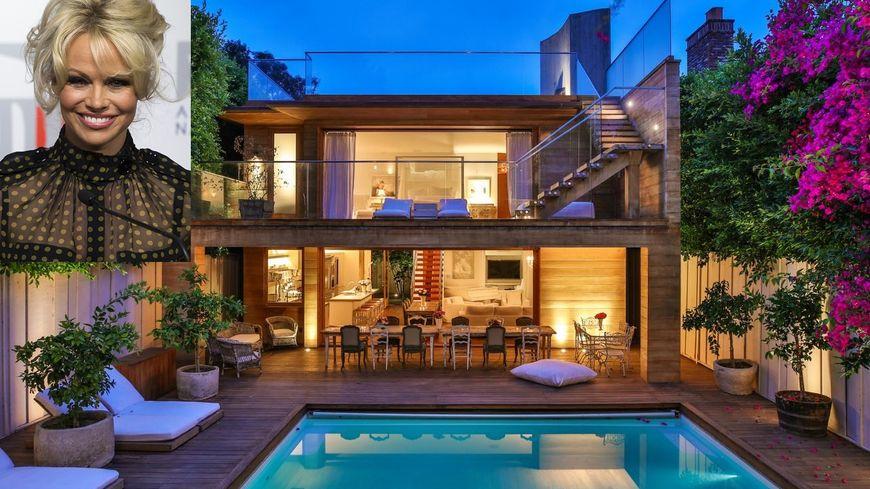 Vid ozap passez vos vacances dans la villa de pamela anderson malibu pendant qu 39 elle est en - Maison de star francaise ...