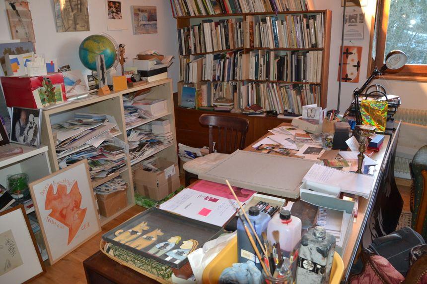"""""""Plus qu'une bibliothèque, c'est un cabinet de curiosités"""". Aurélie Laruelle  - Aucun(e)"""
