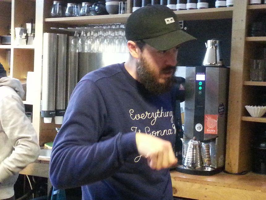 Philippe Exbrayat a ouvert la Fabrique du Café à Limoges le 11 octobre 2012