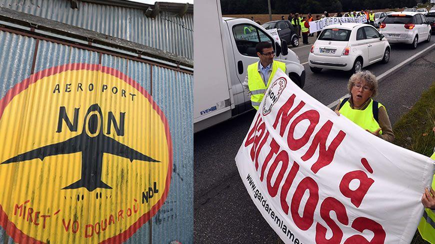 En Haute-Garonne, les opposants ne souhaitent pas installer de ZAD sur le plateau de la Ménude comme ce fut le cas pendant presque 10 ans près de Nantes