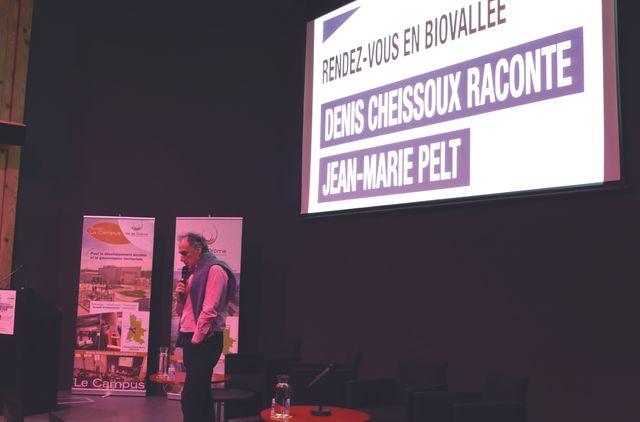 Denis Cheissoux raconte Jean-Marie Pelt