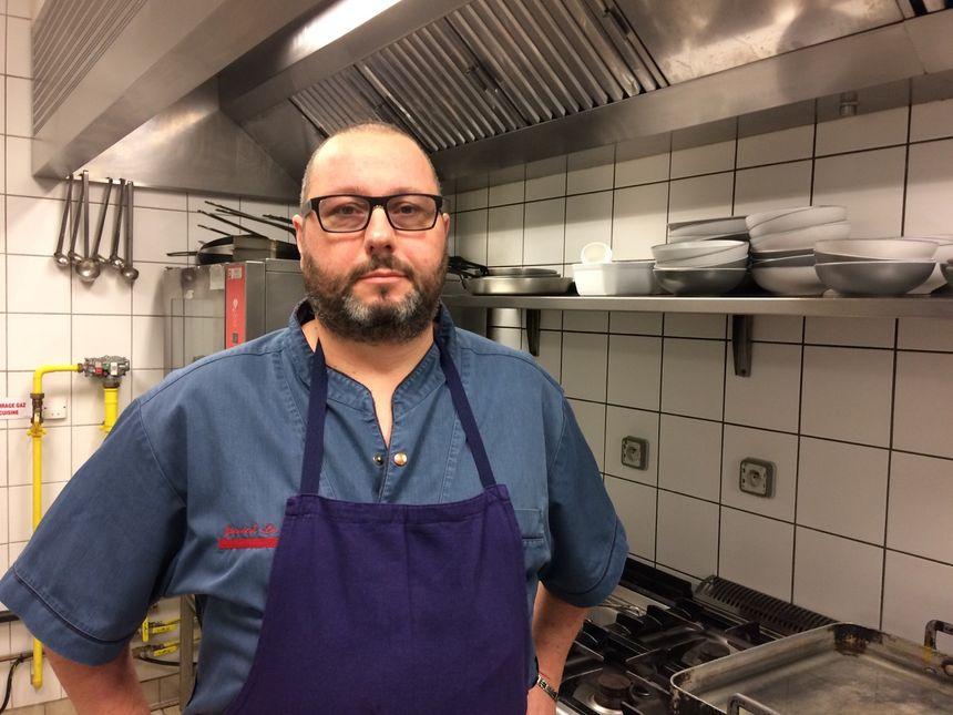 Yannick Lebas, nouveau chef du café du Théâtre à Cherbourg en Cotentin