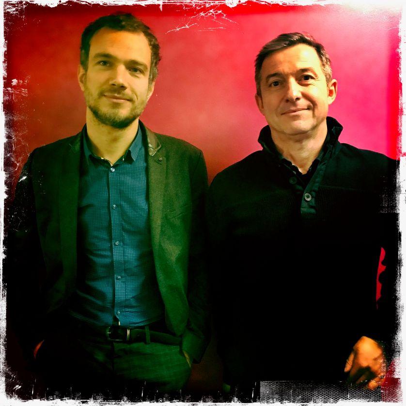 Vincent Message et Didier Fassin