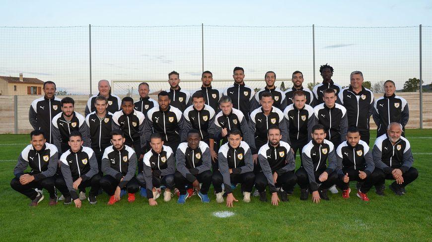 L'équipe de l'AS Fabrègues