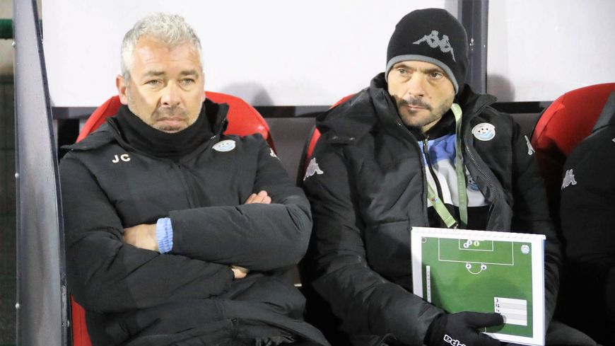"""""""On a fait un bon match"""", estime le coach tourangeau"""
