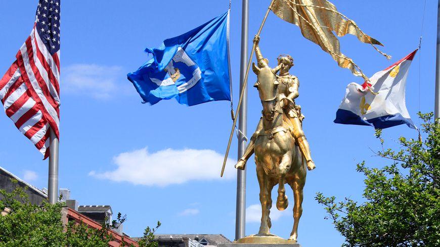 La statue de Jeanne d'Arc à La Nouvelle-Orléans