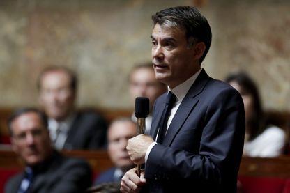 Olivier Faure à l'Assemblée nationale