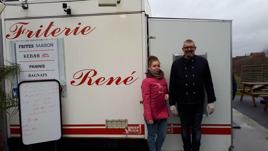 René Leborgne et son apprentie Pauline