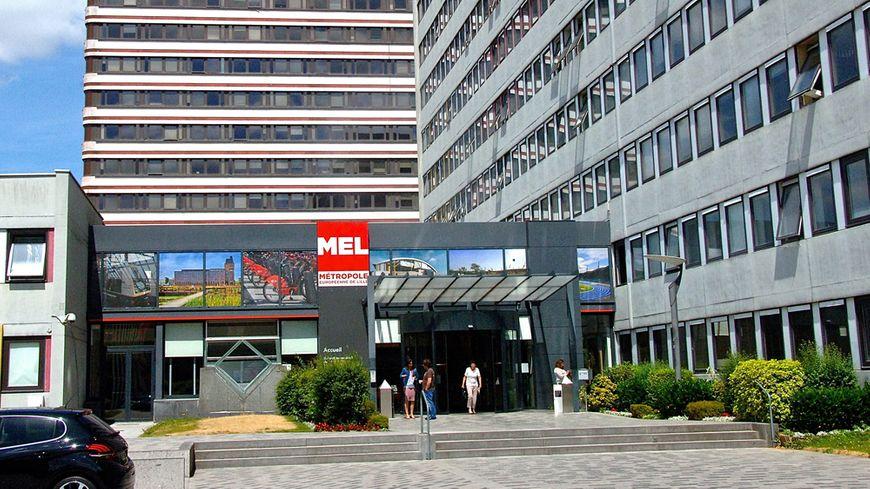 Le siège de la MEL, à Lille