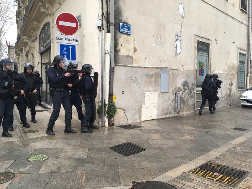 Opération rue Auguste Broussonnet