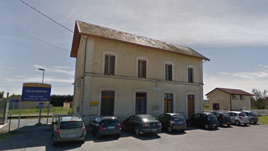 La gare de Gardonne sur le trajet Bergerac-Bordeaux.