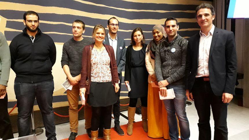 Le maire de Grenoble a salué l'action des jeunes