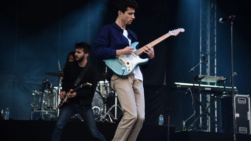 BB Brunes en concert à Marcq en Baroeul le 14 juillet 2014