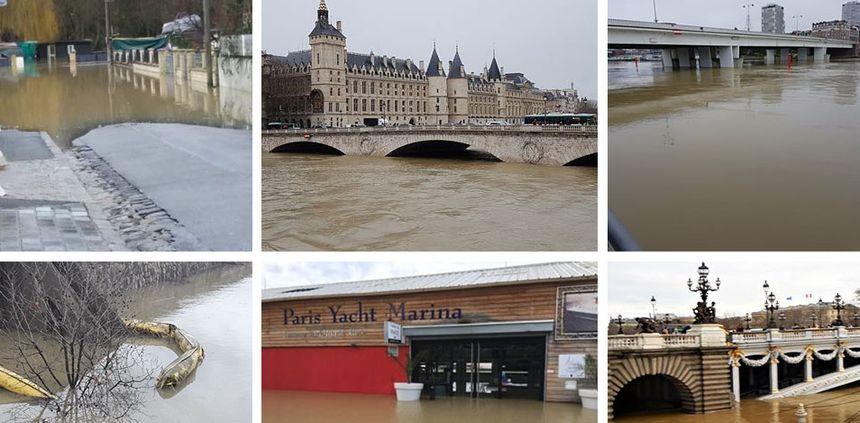Crue de la Seine.