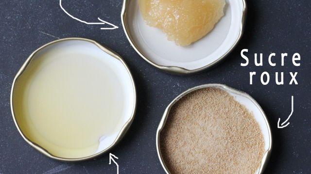 Facile de faire un gommage maison, où le sucre remplace les microbilles de plastique