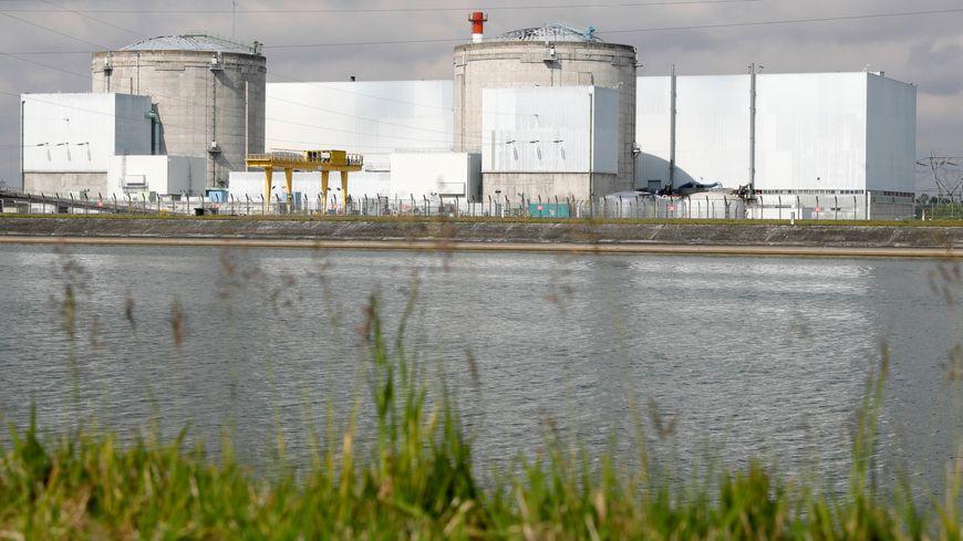 La centrale nucléaire de Fessenheim, en mai 2017