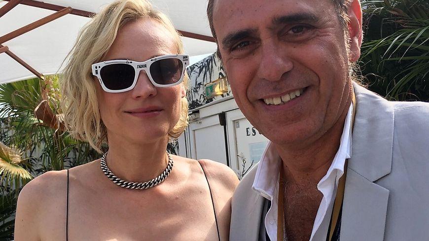 Diane Kruger est l'invitée d'Adrien Mangano