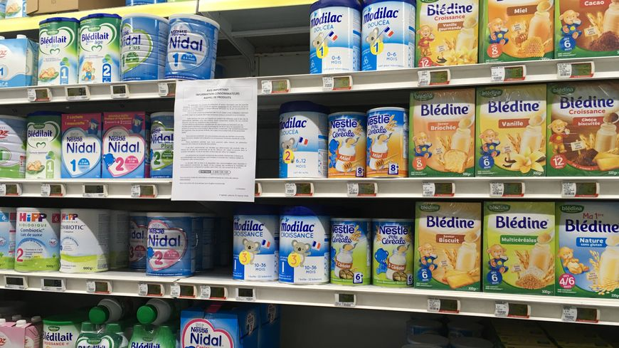 Les magasins Intermarché ont cessé de vendre les produits Lactalis