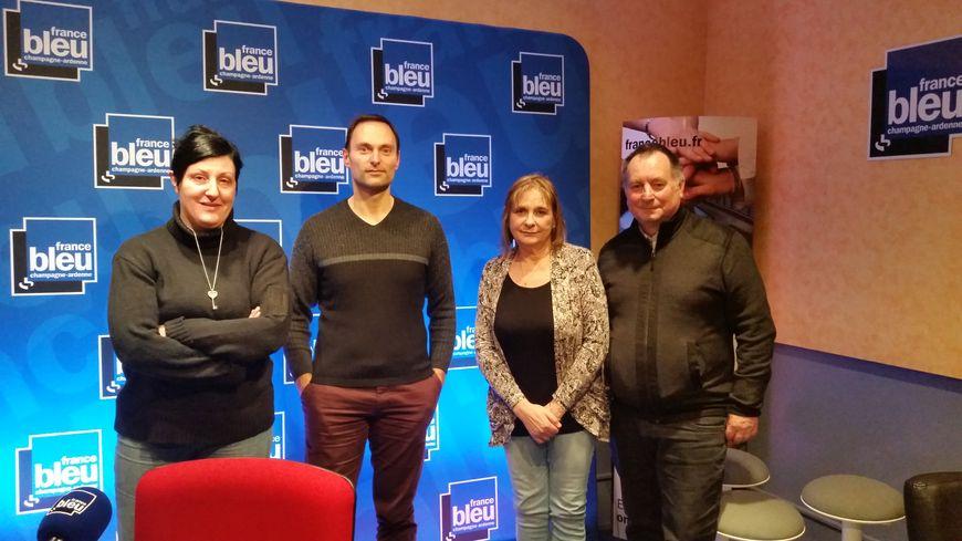 Séverine Pirès, Olivier Cattiaux, Marie-Claude Lellig, Daniel Fontaine
