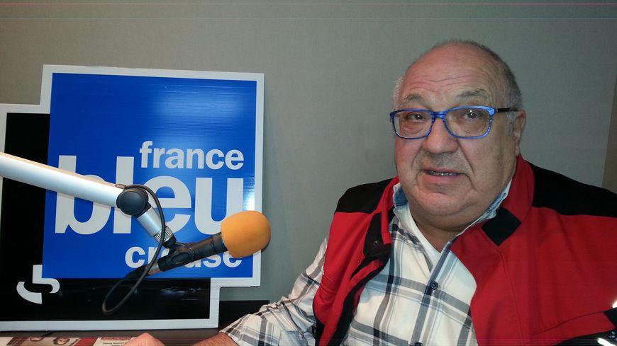 Michel Roux, le patron du Domespace à Guéret