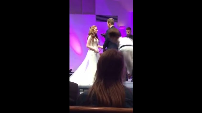 Le film du mariage de ce couple est devenu viral sur internet