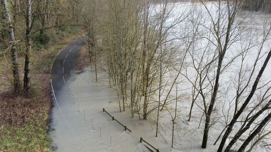Le Rhône a amorcé une sérieuse décrue