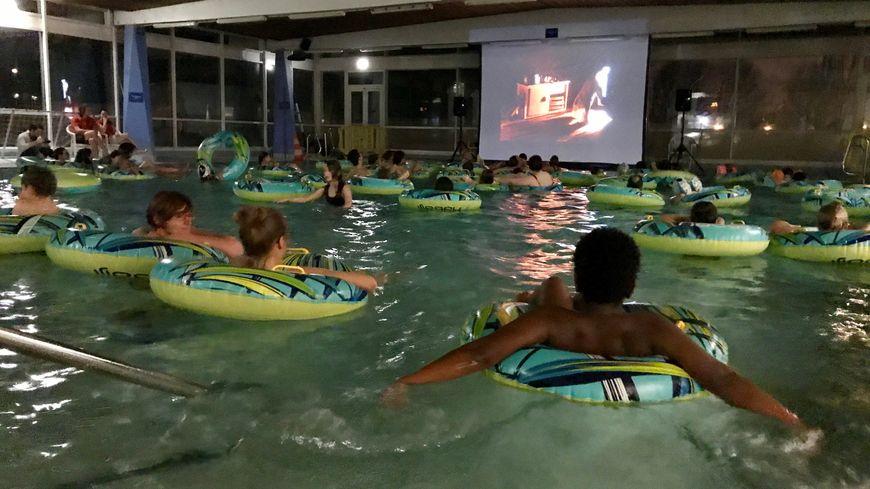 Cin piscine des rouennais ont pu regarder des films for Piscine ile lacroix