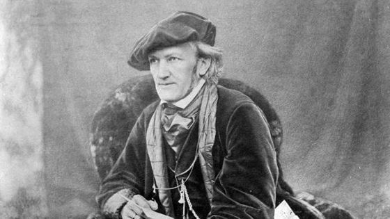 Portrait de Richard Wagner (vers 1868)